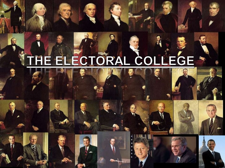 What is the purpose of the electoral college?